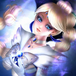 Commission: Sailor Sapphire Swan