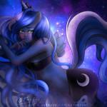 Princess Luna (My Little Pony) by kgfantasy