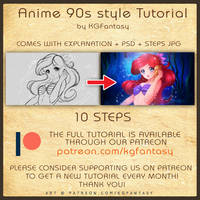[HOW TO DRAW] Anime 90s Style Tutorial