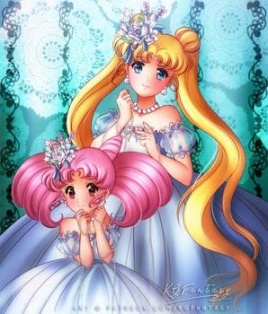 Happy Birthday, Usagi and Chibiusa