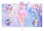 [OPEN] + Flower Kitty + ADOPTABLE AUCTION by kgfantasy
