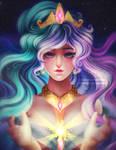 Princess Celestia by kgfantasy