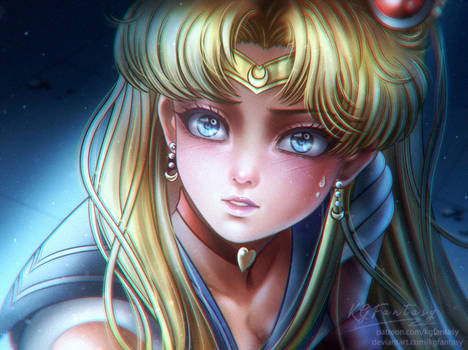 Sailor Moon Redraw Challenge (Full Size added)