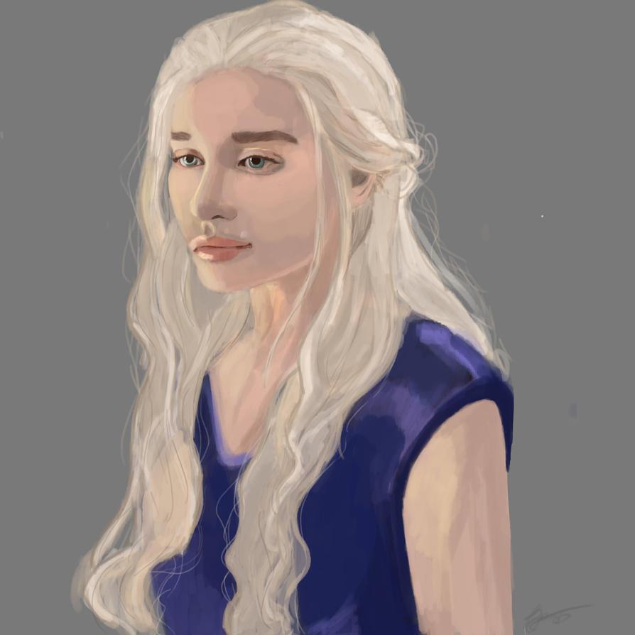 Khaleesi by Lieffe