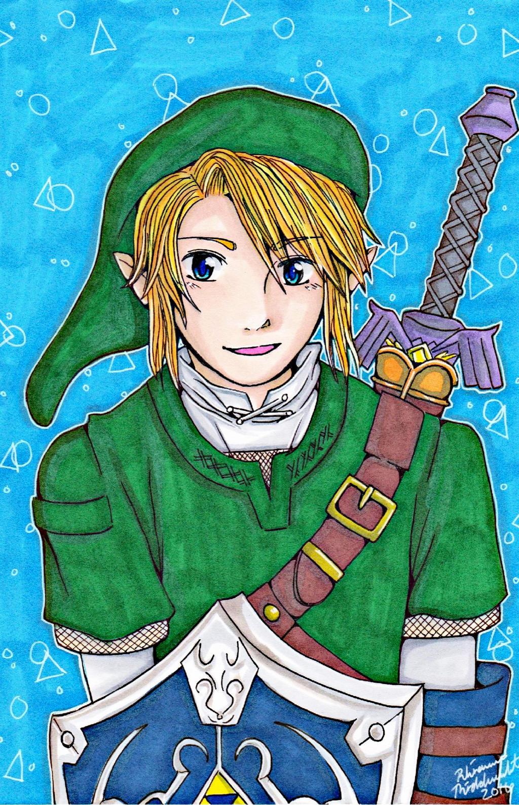 Legend Of Zelda Link Fan Art By Yumbunny101 On Deviantart
