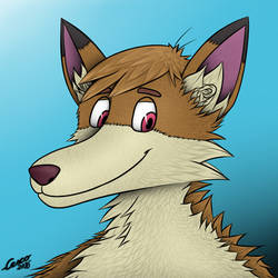 Cartoon-Dude portrait by CescoCat