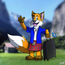 Huk the Kiltfox is back!