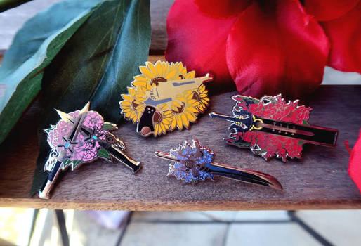 Final Fantasy XV Enamel Pins