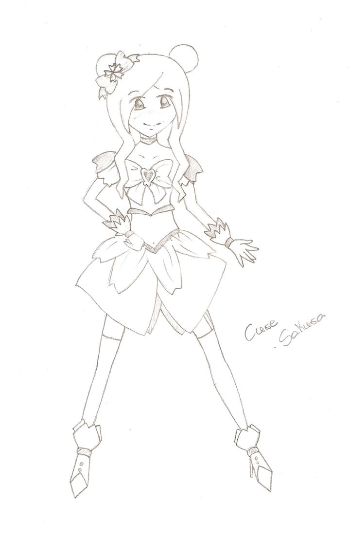 Cure Sakura by MikuXNyu