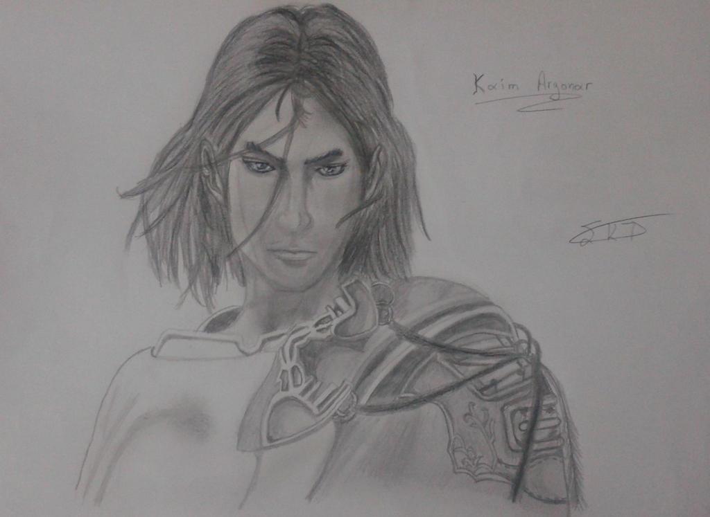 Kaim Argonar's Drawing by StefanosDTsougranis