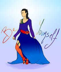 Be yourself - Loki pride by Junkai-chan