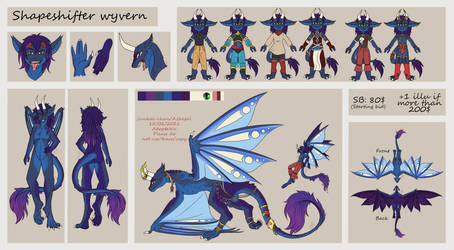 [OPEN AUCTIONS] adoptable sky dragon