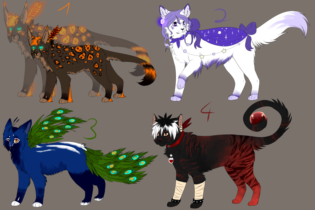 Adoptable Auctions -CLOSED- by Jeavieh