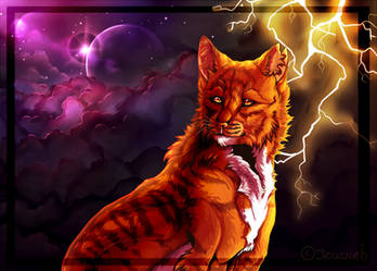 Warrior Cats -Thunder!- +SPEEDPAINT by NeCroven