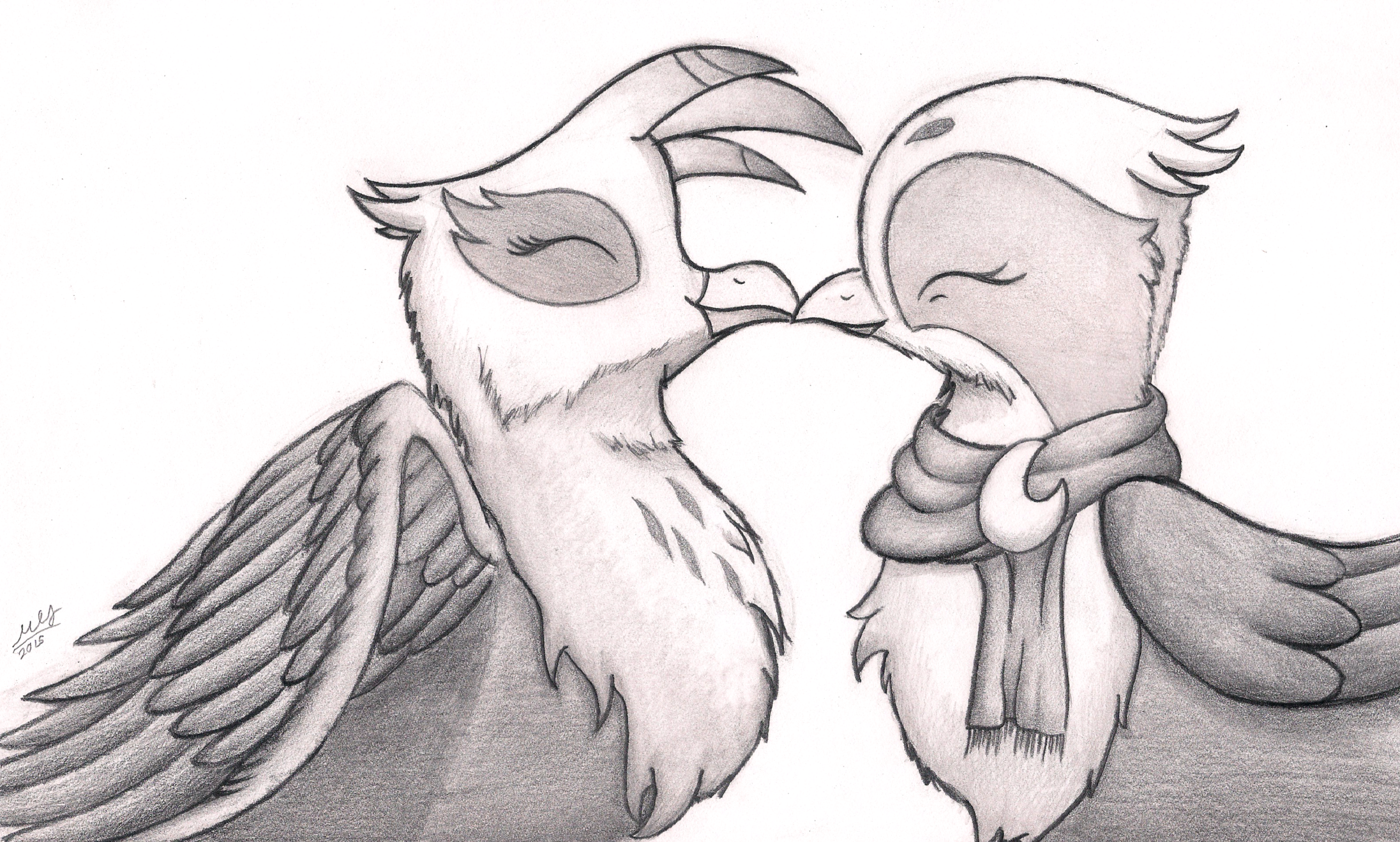 Love Birds By Graboiidz On Deviantart