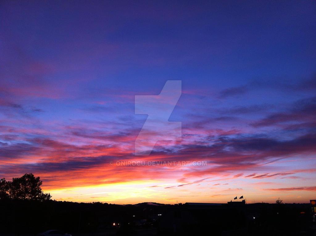 Colorful Sunrise by OniRocu