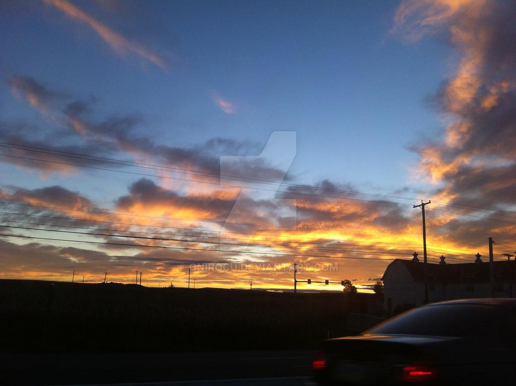 Golden Sunrise by OniRocu