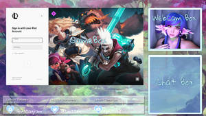 Twitch League of Legends Stream Overlay
