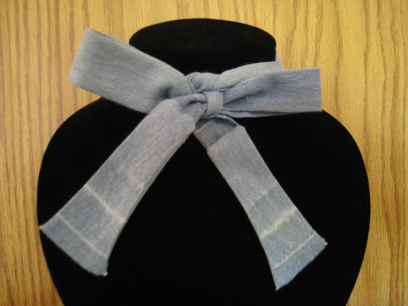 Denim Necktie by AyameKrislock