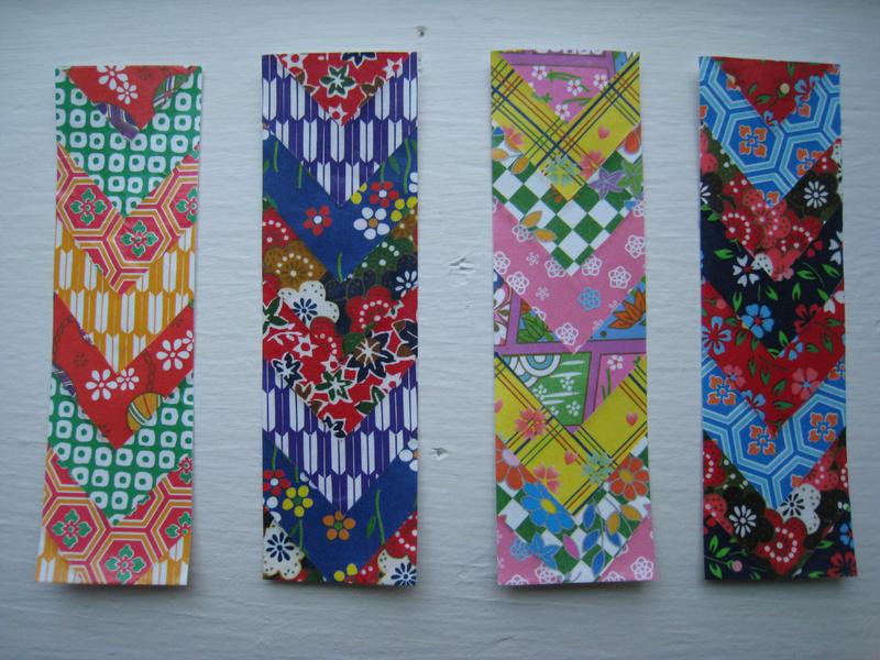 Origami Paper Bookmarks by AyameKrislock