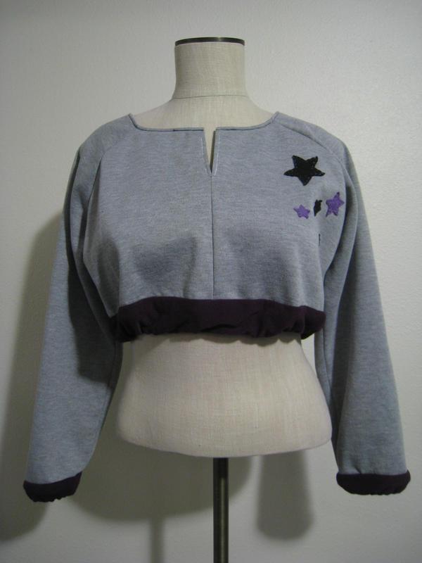 Starry Sweatshirt by AyameKrislock