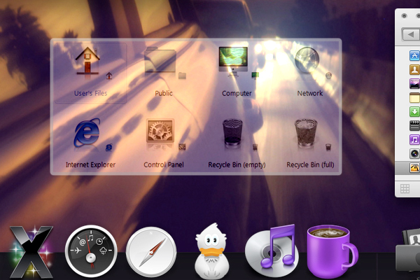 Mac Icons For Windows 7 by ayeesiks