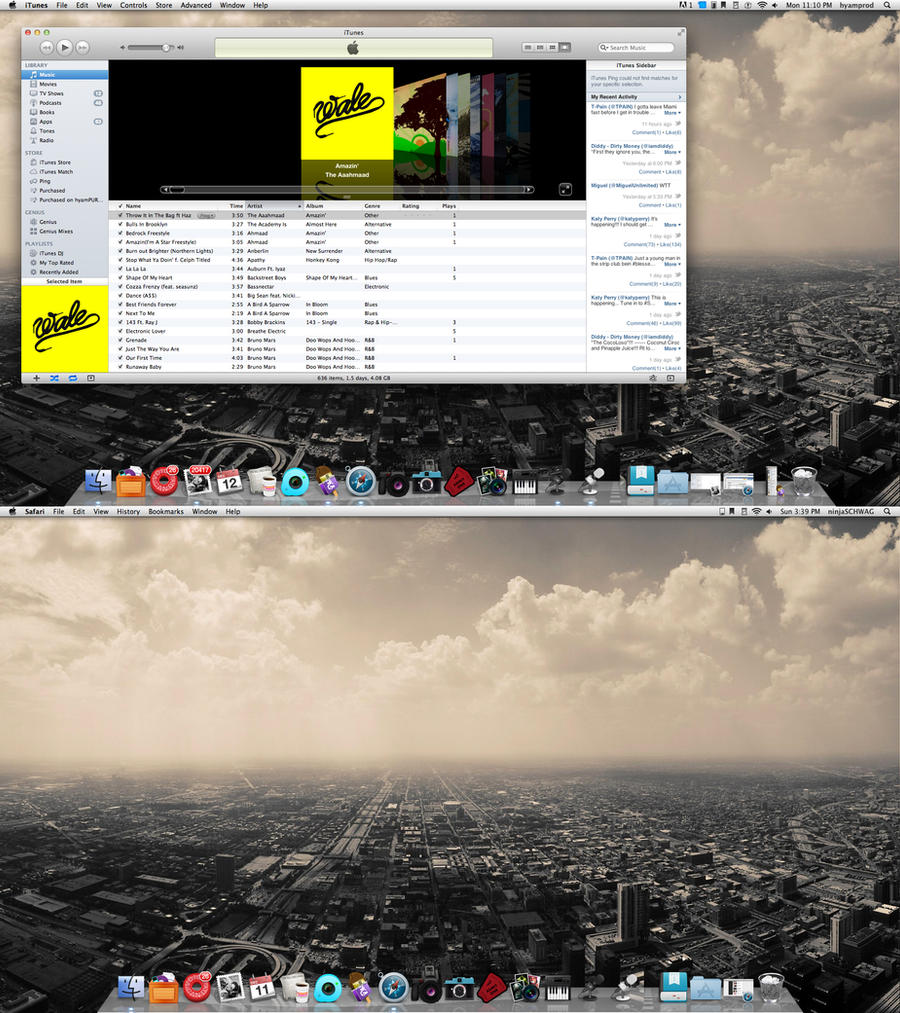 iMac Screenshot December by ayeesiks