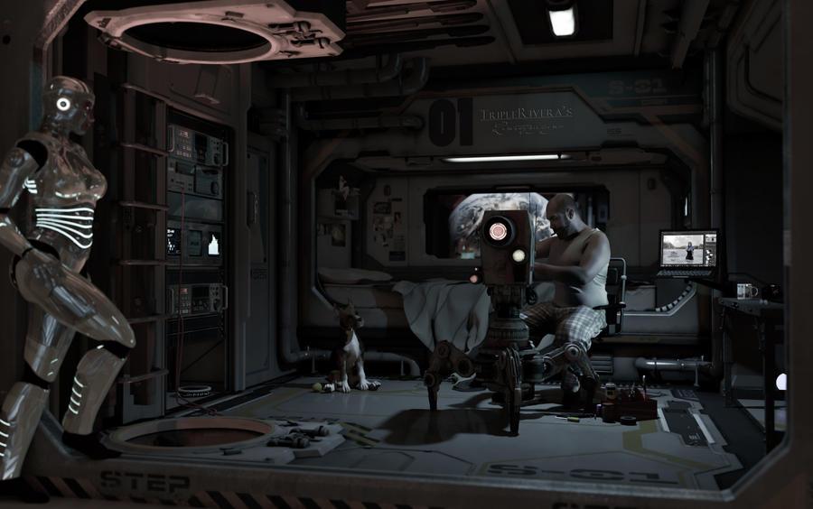 space trip by triplerivera