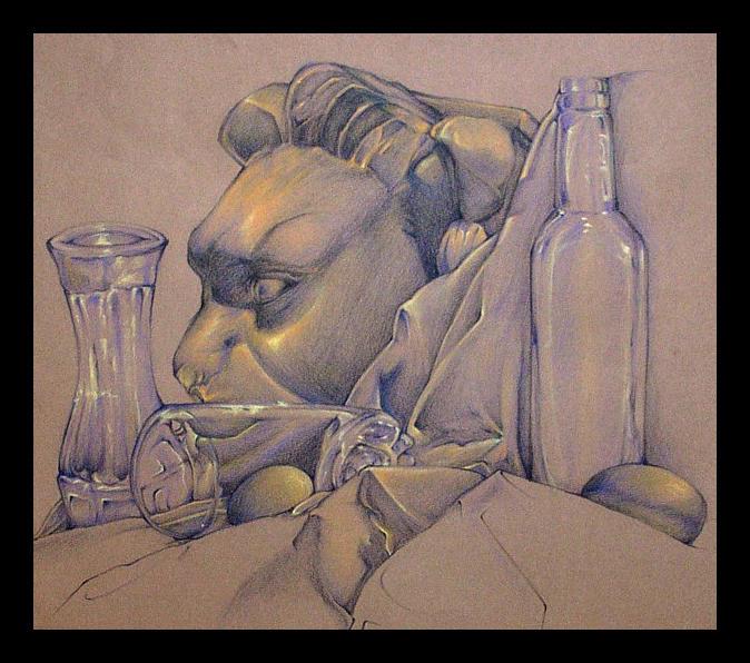 Lionhead still-life by i-concur