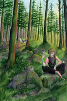 I know all the secrets of the forest by Manuela-M