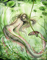 Maid of the green waters by Manuela-M