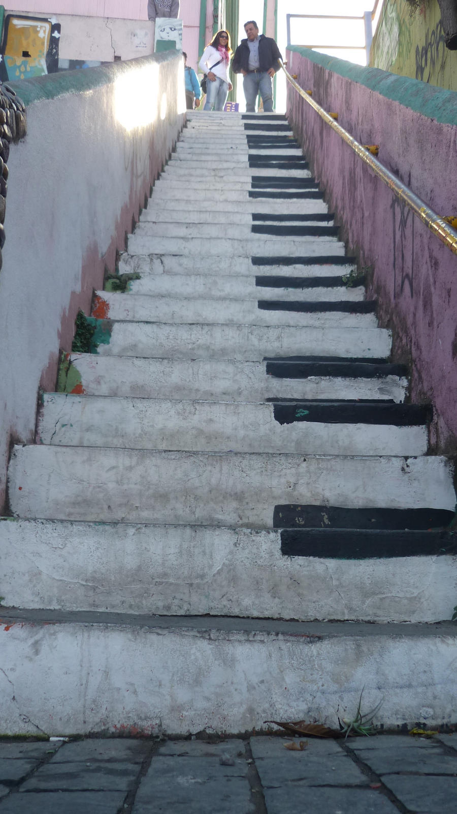 Steps of piano by Undeat