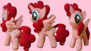 Filly Alicorn Pinkie Pie Plush