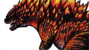 Burning Godzilla 2014
