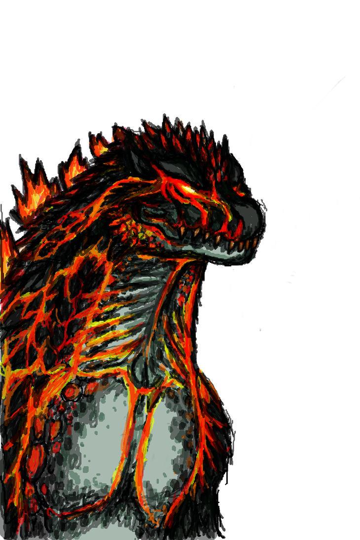 Burning Godzilla(2000) by Keino19 on DeviantArt