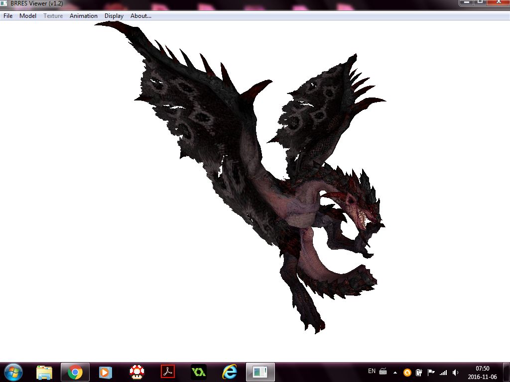 Mh4u Dark Rathian Custom Skin 03 By Keino19 On Deviantart
