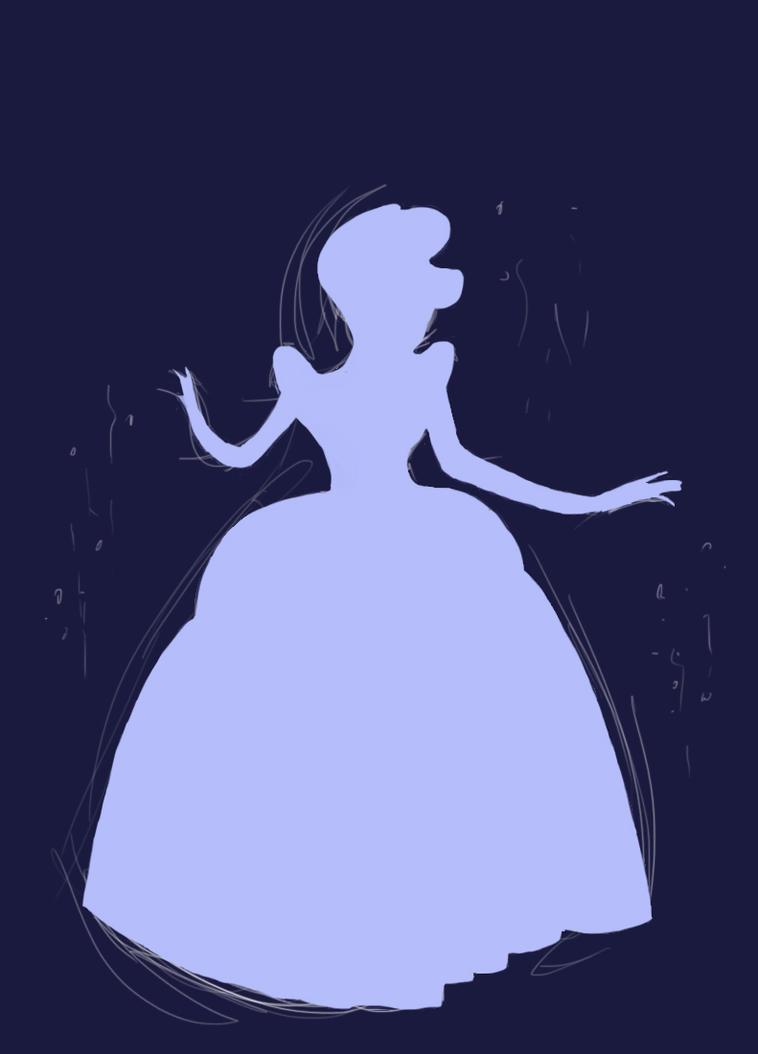Cinderella Silhouette by RLynn-artPrintable Cinderella Silhouette