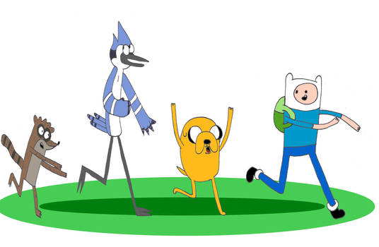 A Regular Adventure Time Show