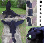 :HTTYD: Toothless Plush Details