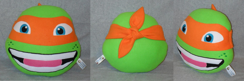 :TMNT: Mikey Pillow by MiharutheKunoichi