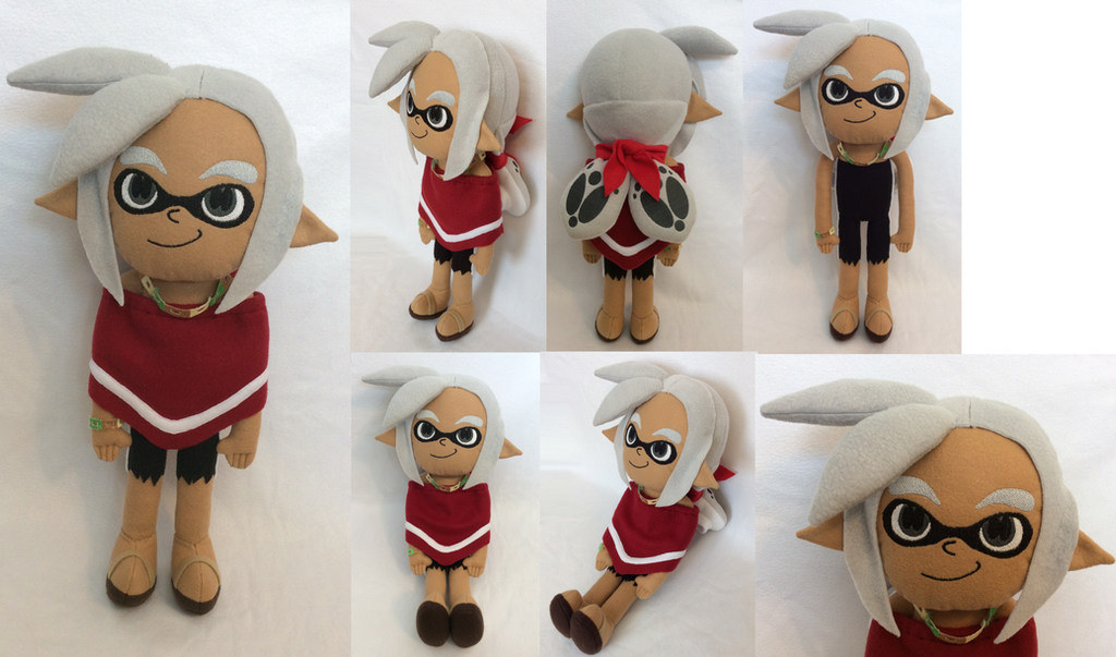 :Splatoon: Inkling Boy Seymour Plush by MiharutheKunoichi
