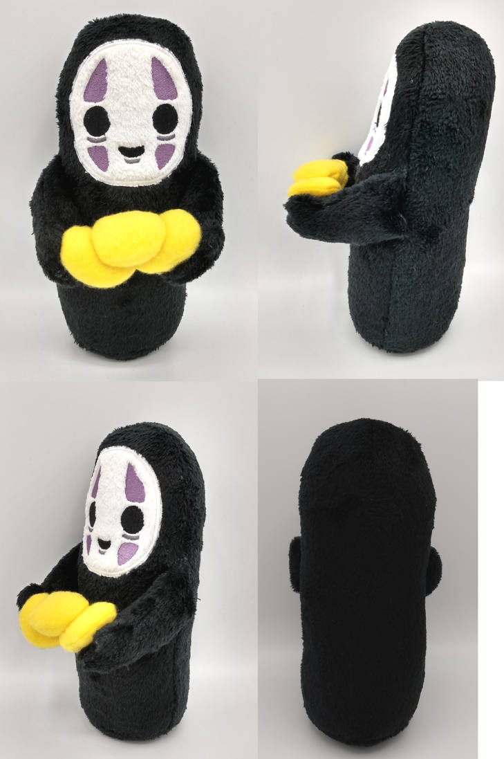 :Studio Ghibli: No-Face Plush(Giveaway on Twitter)