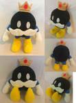 :Mario: King Bob-omb Plush