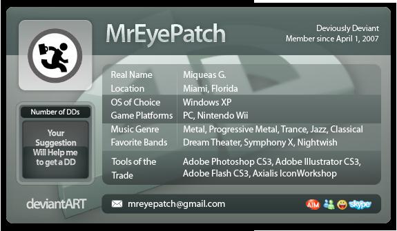 ID deviantART Theme by MrEyePatch