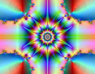 Rainbow Star by BaldrickDarling