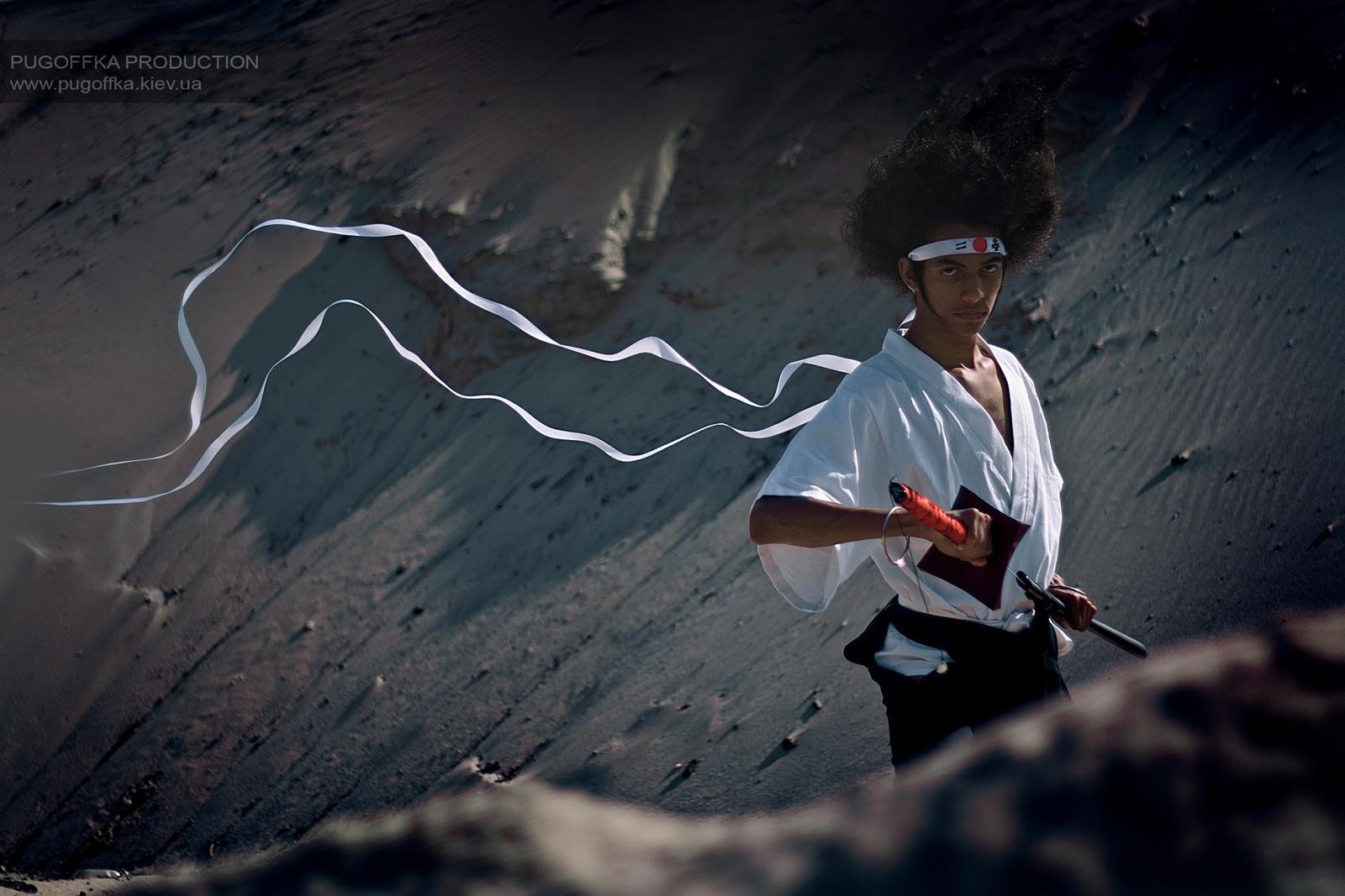 Afro Samurai by Pugoffka-sama