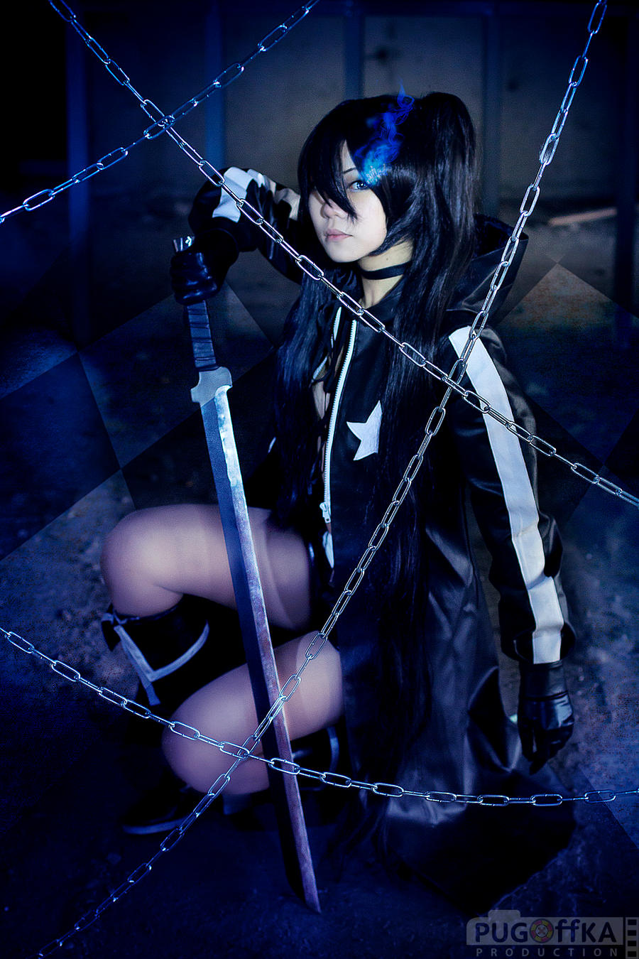 Black Rock Shooter by Pugoffka-sama