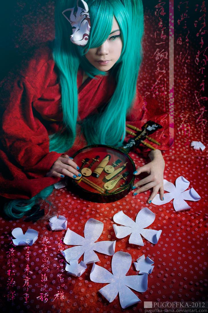 Hatsune Miku by Pugoffka-sama