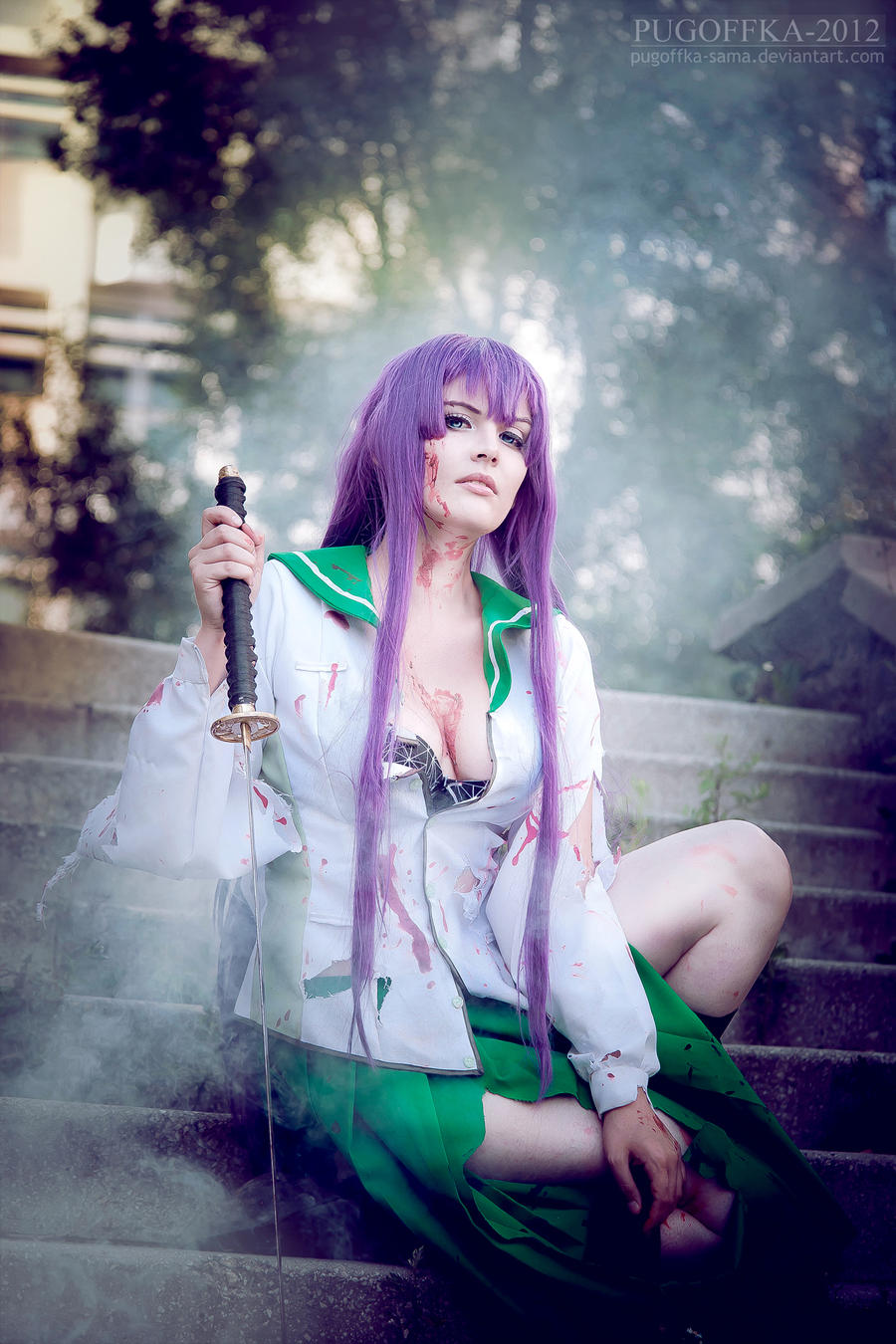 Highschool of the dead by Pugoffka-sama