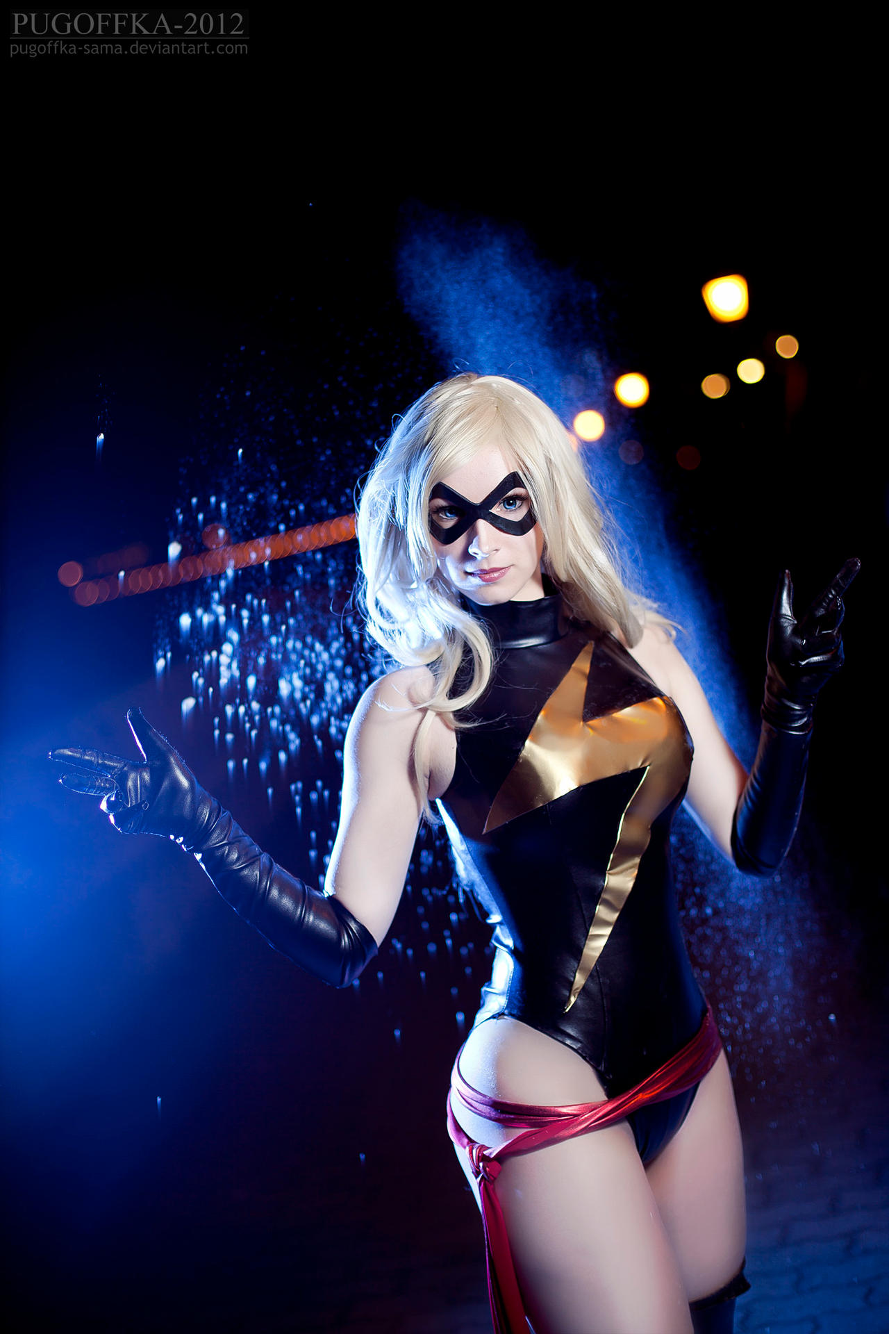 Ms.Marvel by Pugoffka-sama